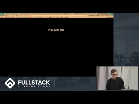 HTML 5 Web Audio API Tutorial - Manipulating Audio in the Browser