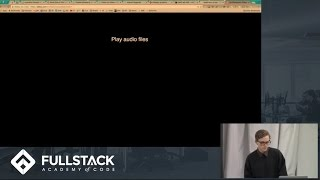 HTML 5 Web Audio API Tutorial - Manipulating Audio in the Browser