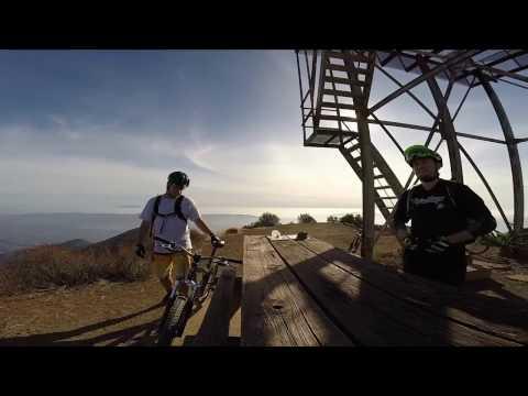 Mountain Biking Gridley Trail - Ojai, CA (stabilized)
