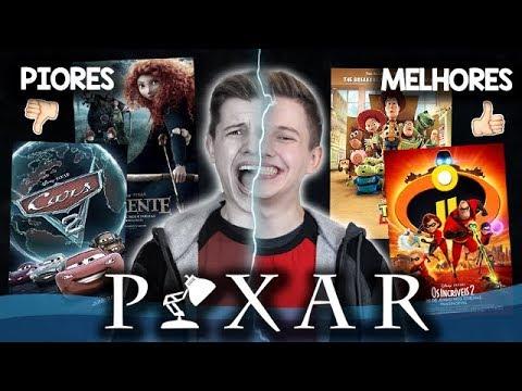 Os PIORES e os MELHORES Filmes da PIXAR - Especial OS INCRÍVEIS 2