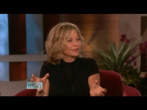 Meg Ryan  on Ellen Part 1 091708