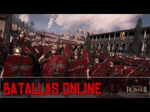 Rome 2 Total War | Batalla Online #1 | Sucesores de Alejandro Magno