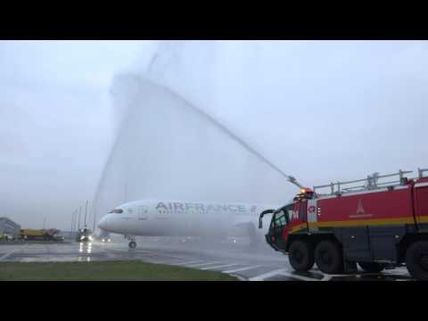 Air France onthaalt eerste Boeing 787
