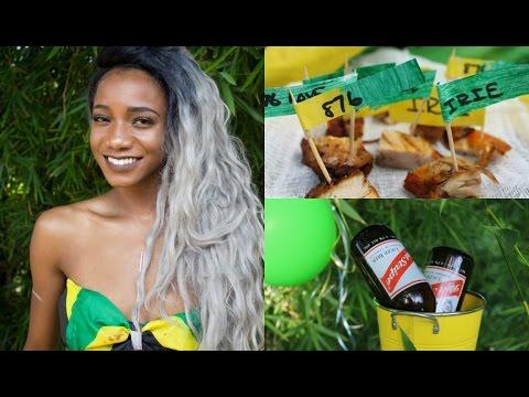 Jamaica Independence Day Party Ideas, Food Recipe, DIY Decor | Annesha Adams