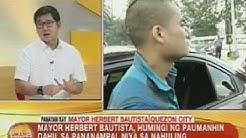 UB: Mayor Herbert, humingi ng paumanhin sa pananampal niya sa nahuling Chinese drug dealer
