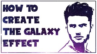 How To Create The Galaxy Effect On Your Photo - Pixlr Tutorial