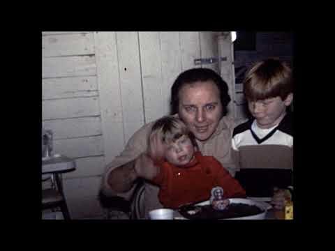 1983 - Dad, Mom, Carmen, Mark, Rock, John Bresky, Birthday Party