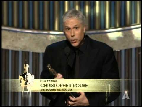 """The Bourne Ultimatum"" winning a Film Editing Oscar®"