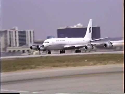 Southern Air Transport Boeing 707-369C at LAX
