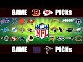 NFL Week 7 Picks: Insulting EVERY GAME