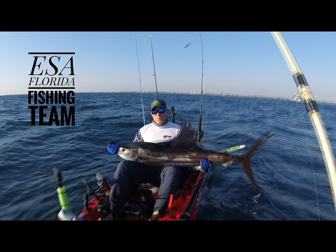 Extreme Kayaking - ESA - Slow Trolling Kayak Fishing, Sailfish and King Fish, Drift Fishing