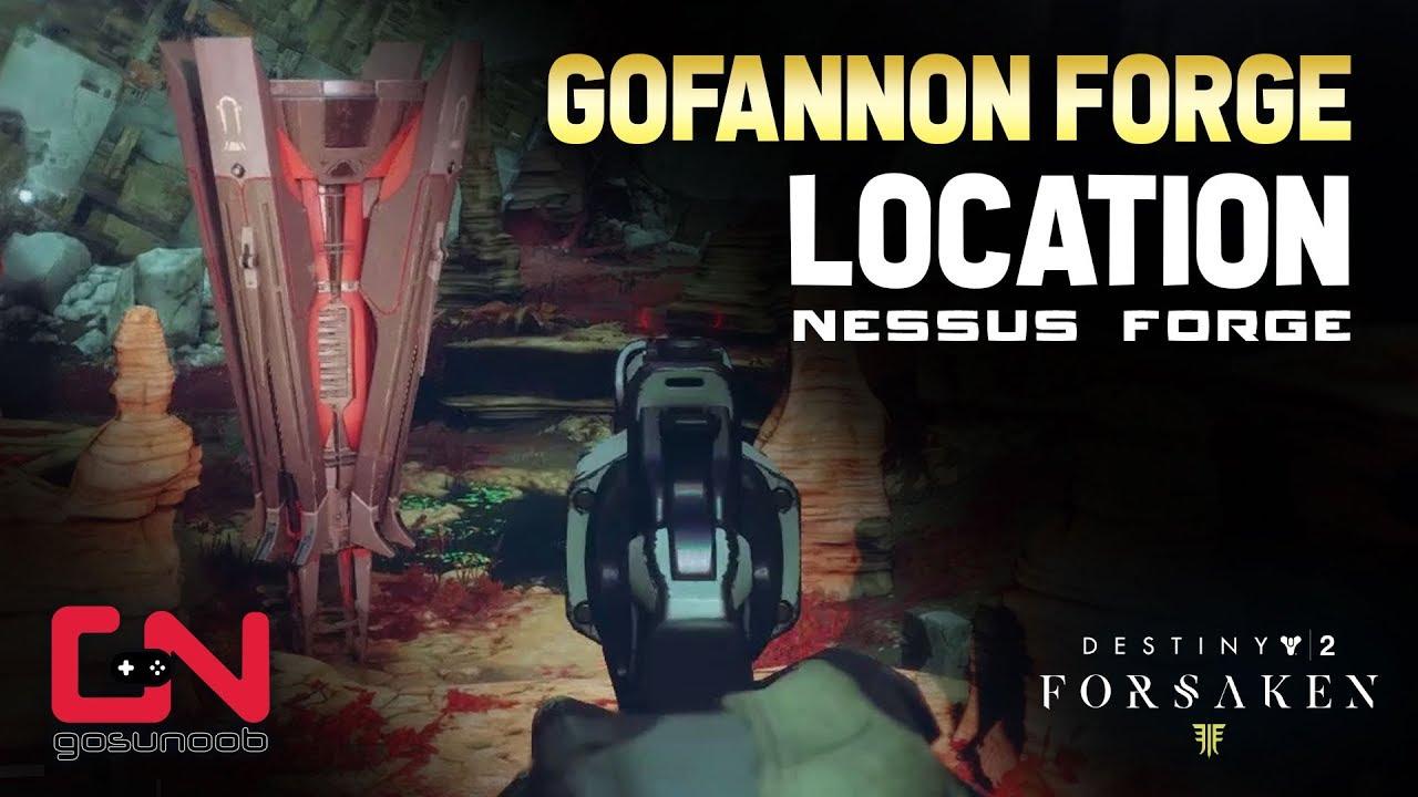 Destiny 2: Forge locations guide (Volundr, Gofannon, Izanami