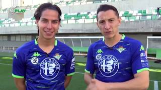 Lainez y Guardado juegan a tres metas