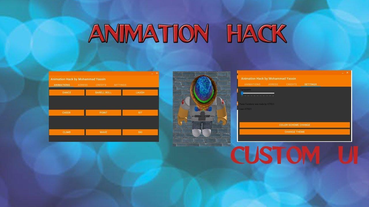 Roblox Exploit Unpatchble Animation Hack Free V1 Youtube