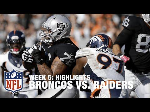 Broncos vs. Raiders | Week 5 Highlights | NFL