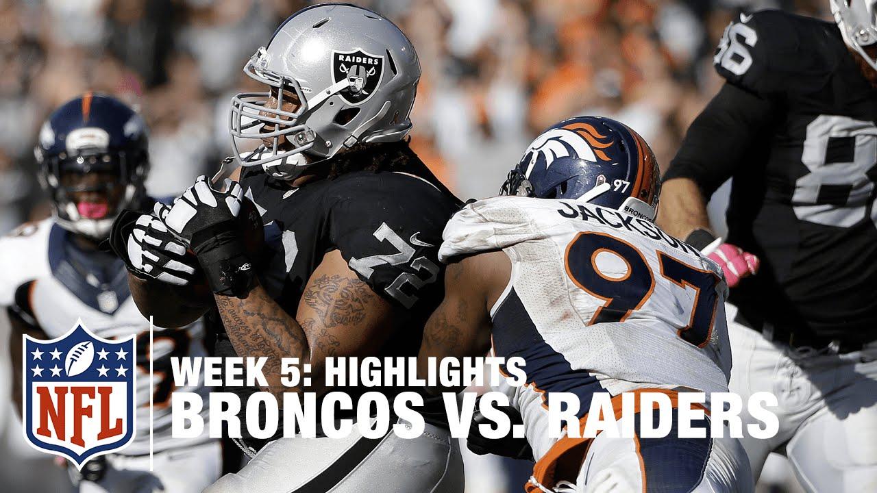 Broncos vs. Raiders  fe4a906bf
