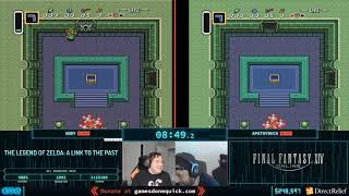 The Legend of Zelda: A Link to the Past by Andy and apathyduck in 1:16:03 - Corona Relief Done Quick