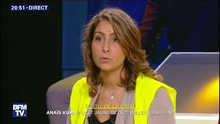 """On ne vit plus, on survit;"" insiste cette gilet jaune"