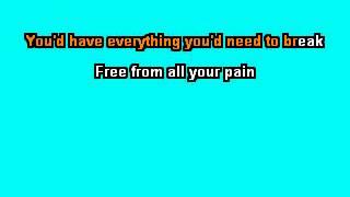 Bernard Fanning -  Songbird   Karaoke