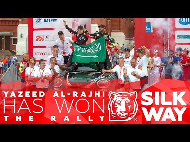 Yazeed Al-Rajhi has won the rally | Silk Way Rally 2018🌏. Daily Highlights.