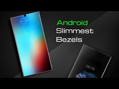 Highest Screen-to-Body Ratio Android Phones - Top 10 2017