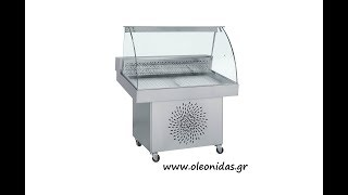 Ψυγείο βιτρίνα συντήρησης Ψαριών. Refrigerated display for fresh fish(http://www.oleonidas.gr - email: info@oleonidas.gr Tel: 0030 2103472270 ♢External dimensions (WxDxH) cm. 110x85x125 or 150x85x125 ♢Temperature ..., 2015-11-12T12:46:01.000Z)
