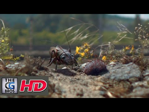 "CGI VFX Spot HD: ""Fred The Field Cricket"" - by Mikros Image"