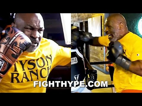 MIKE TYSON BEAST SPARRING, LEAKS NEW POWER & SPEED AT AGE 54 DRILLS SIGNATURE MOVES IN TRAINING mp3 letöltés