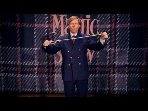Las Vegas Magician Mac King Shows Us A Trick