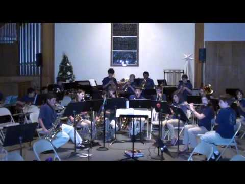 Jungle Boogie - Mill Valley Middle School Jazz Band - December 2012