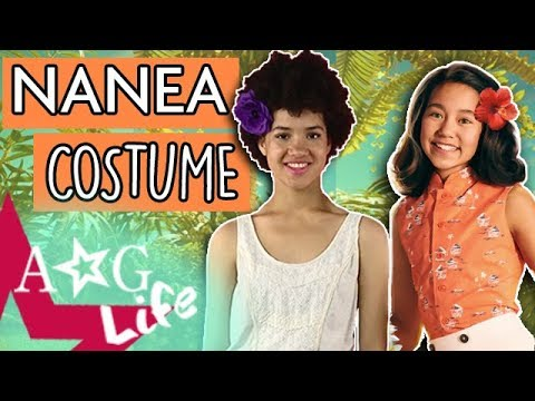 Nanea Inspired Halloween Costume DIY & Makeup! + Popcorn Balls! | AG Life | Episode 104