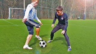 Top 3 ★ Amazing Football Skills To Learn - Tutorial(How to do some great football soccer skills. Players like Cristiano Ronaldo, Özil, Ribery & Neymar are doing these in matches, but you can easily learn it too!, 2015-09-10T20:00:01.000Z)