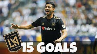 Carlos Vela • Every goal for LAFC in 2018 - Todos los goles para LAFC 2018