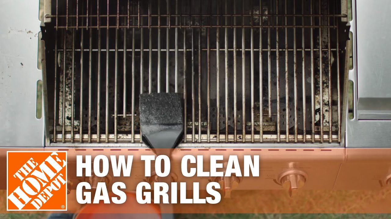 How to Clean a Gas Grill  The Home Depot  YouTube