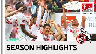 1. FC Köln Are Back In The Bundesliga - Season 2018-19 Highlights