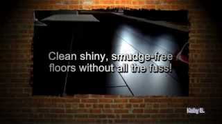 Cleaning My DARK Laminated Floors - The Easy Way!