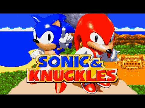 Sonic & Knuckles Full Playthrough Sonic Version