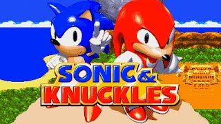 Sonic & Knuckles Full Playthrough Sonic Version - No Commentary