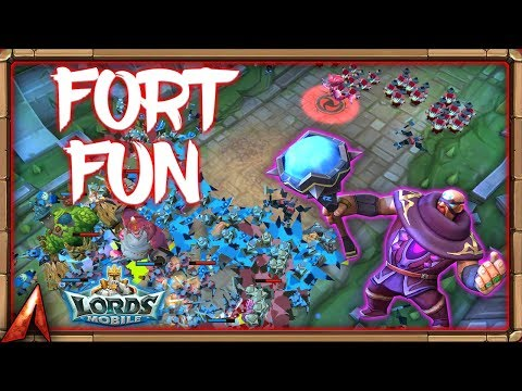 Some Fort Fun! Lords Mobile