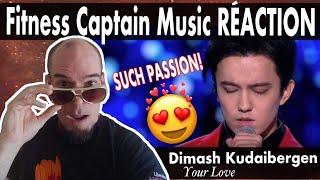 Fitness Captain RÉACTION _ DIMASH kudaibergen & IGOR KRUTOY YOUR LOVE ( premiere)