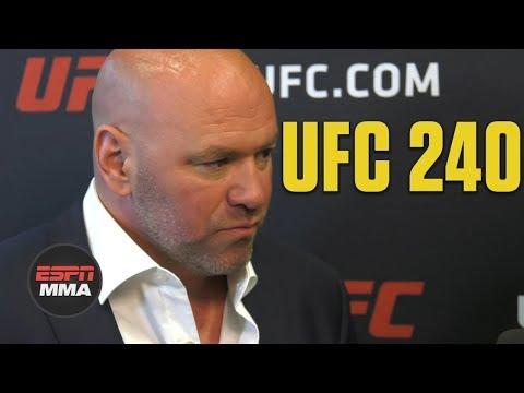 Dana White recaps Holloway vs. Edgar, Cyborg vs. Spencer | UFC 240 | ESPN MMA