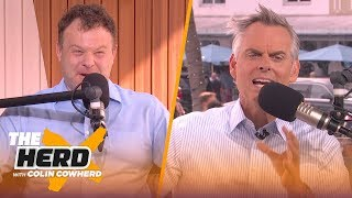 Frank Caliendo talks Super Bowl, impersonates Madden, Gruden, Bradshaw | THE HERD | LIVE FROM MIAMI