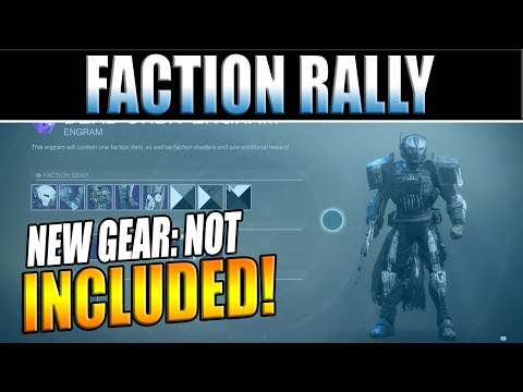 Destiny 2 News | New Gear NOT Dropping In Faction Rally? Lost Sector Lockouts & Bungie's Response