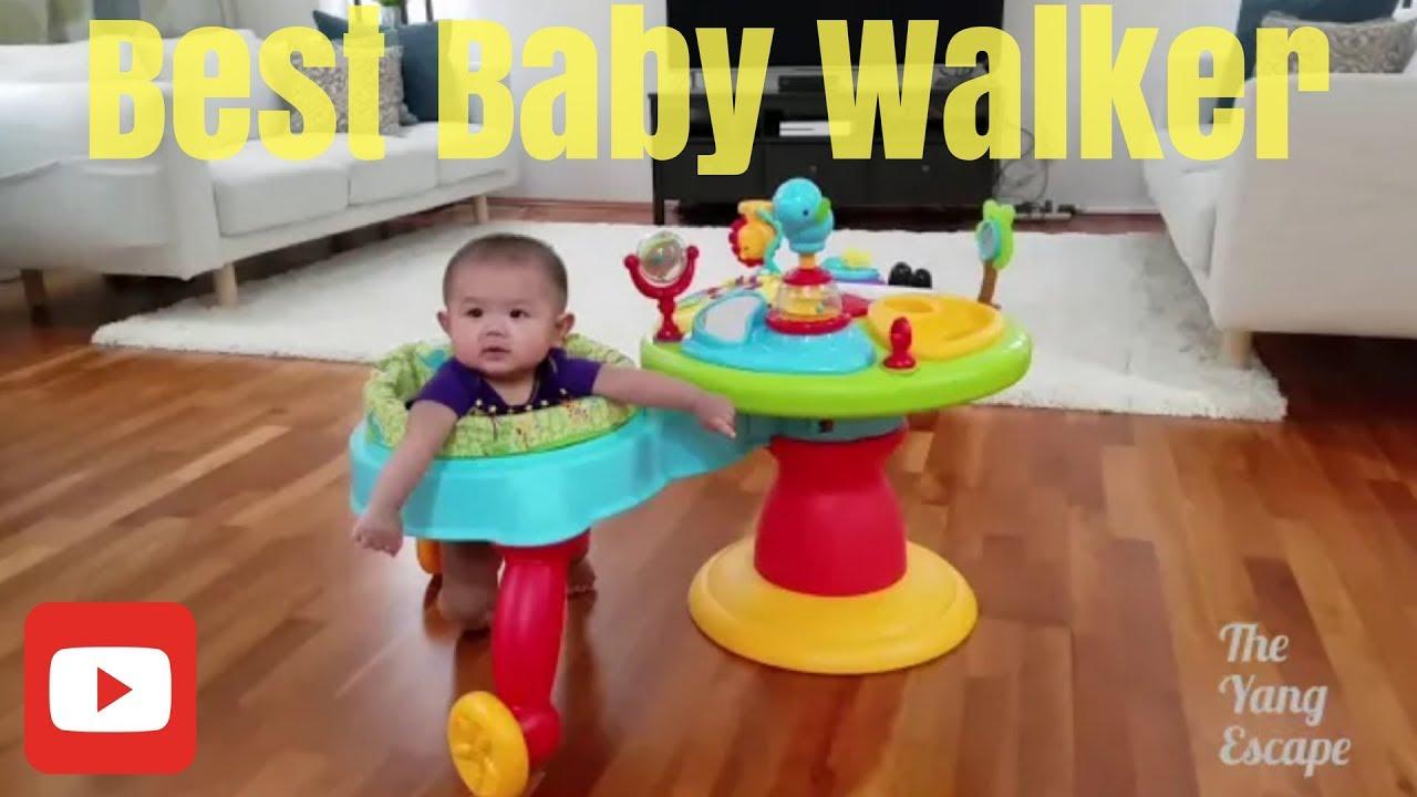Bright Starts 3-in-1 Around We Go Activity Center Baby Toddler Table Walker