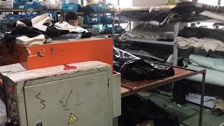Die cutting machine for shoes fabric