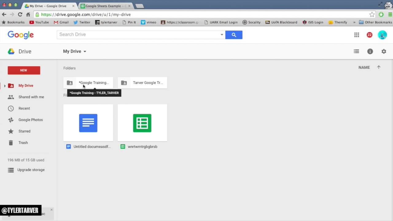 how to view folder size google drive