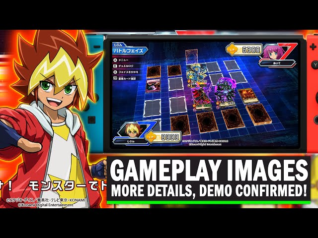 NEW GAMEPLAY IMAGES! Yu-Gi-Oh! Rush Duel Nintendo Switch Game: DEMO Confirmed! New Details & More!