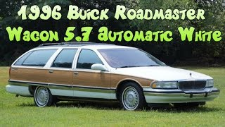 1996 Buick Roadmaster Estate Station Wagon 5.7L LT1 V8 CHEVY 350 Automatic White