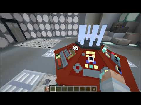 Minecraft New Tardis Mod (LINK DOWN BELOW!) [Custom Interior And Rooms]
