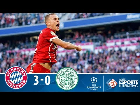 Melhores Momentos - Bayern de Munique 3x0 Celtic - Champions League (18/10/2017)